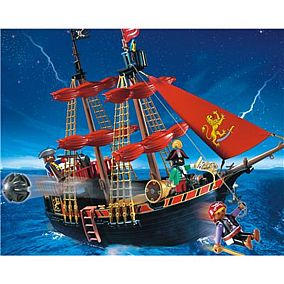 PLAYMOBIL 4424 Piratenkaperschiff