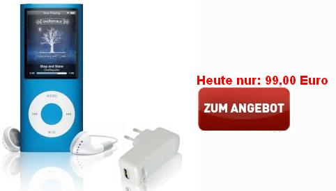 liveshopping apple ipod nano 8gb blau 4g ab 94. Black Bedroom Furniture Sets. Home Design Ideas