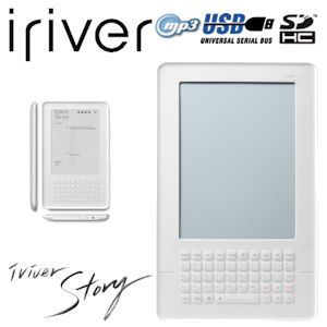 iRiver Story EB02 eReader mit QWERTY-Tastatur und MP3-Player