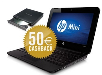 hp mini dvd brenner