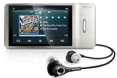 philips gogear muse 16gb f r 66 mp4 player mit. Black Bedroom Furniture Sets. Home Design Ideas