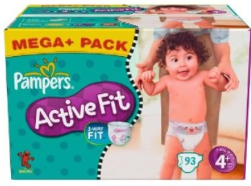 pampers active fit windeln g nstig im spar abo bei amazon. Black Bedroom Furniture Sets. Home Design Ideas