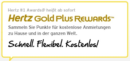 hertz gold status rewards