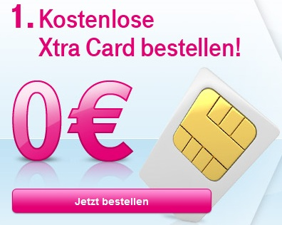 Xtra Card Registrieren