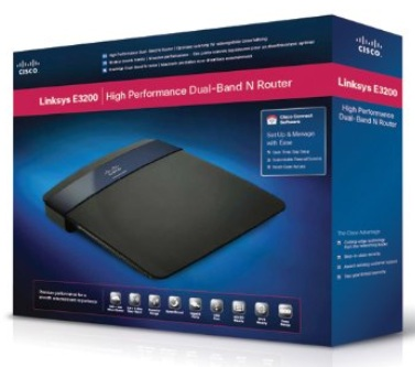 Linksys E3200 Wireless N Dual Band