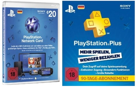 20 playstation network card playstation plus live card. Black Bedroom Furniture Sets. Home Design Ideas