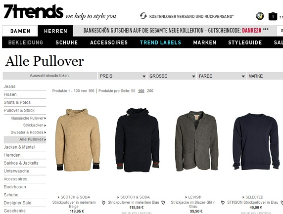 7trends pullover