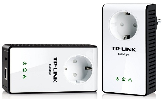TP Link TL PA551KIT Powerline Adapter Starter Kit