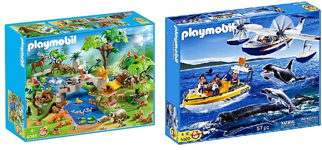 20 rabatt auf alle playmobil artikel bei toys r us z b playmobil walbeobachtung meeres. Black Bedroom Furniture Sets. Home Design Ideas