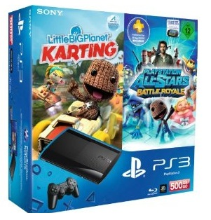 Sony PS3 Super Slim AllStars Bundle