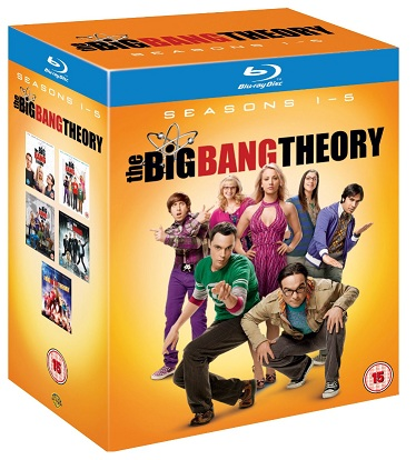 The Big Bang Theory – Complete Season 1-5 [DVD] für 30,64