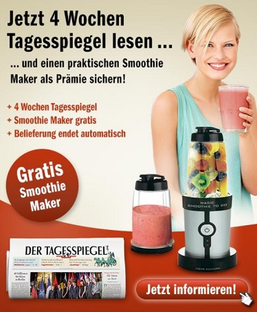 Tagesspiegel abo smoothie