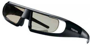 Active Shutter Brille 3D Toshiba FPT-AG02G