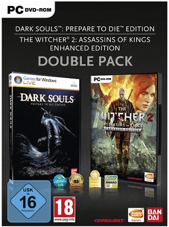 Double Pack  The Witcher 2 Enhanced Edition + Dark Souls Prepare to die Edition