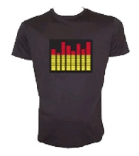 Equalizer LED Shirt