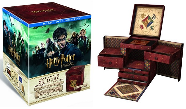 Harry Potter Zauberer Collection Blu-ray DVD