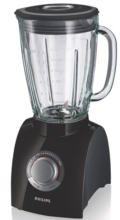 Philips HR2084 90 Standmixer Essential 650 Watt schwarz