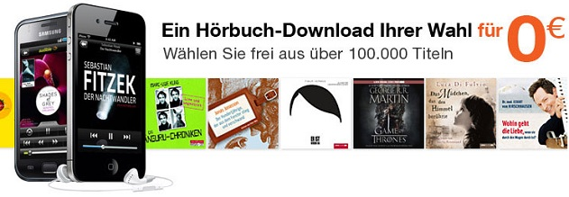hörbuch audible probeabo gratis