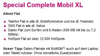 special complete mobil xl