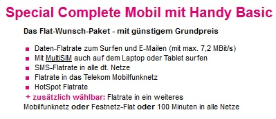 telekom special complete mobil