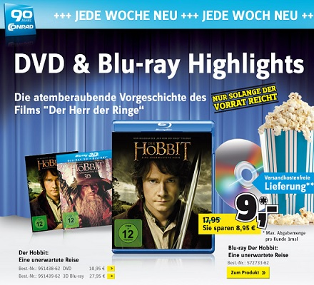 Der Hobbit Bluray