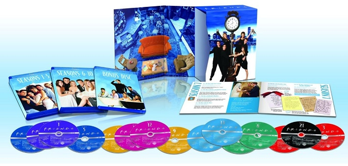 Friends Box Bluray