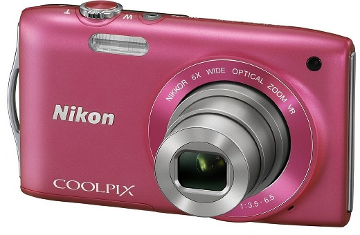Nikon Coolpix S3300 Digitalkamera