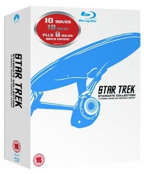 Star Trek Stardate Collection - The Movies 1-10