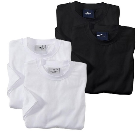 TOM TAILOR 2er Pack T-Shirt