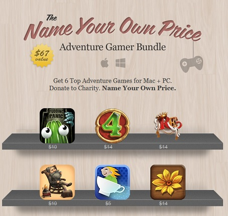 The Name Your Own Price Adventure Gamer Bundle