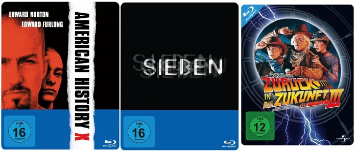 Bluray Steelbooks