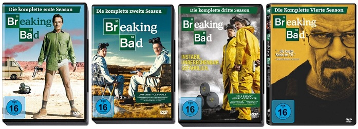 Breaking Bad Staffel 1 bis 4