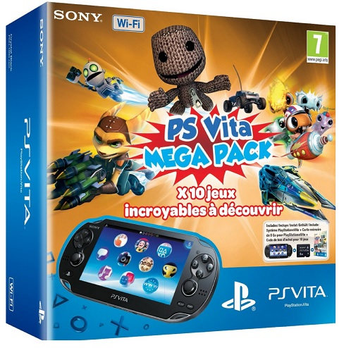Console Playstation Vita Wifi + Kids Pack voucher