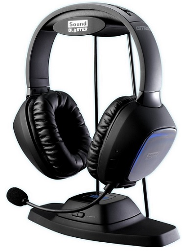 Creative Sound Blaster Tactic3D Omega Wireless THX Headset