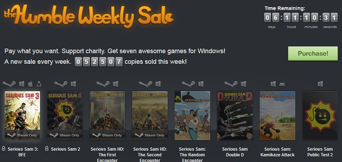 Humble Bundle Steam