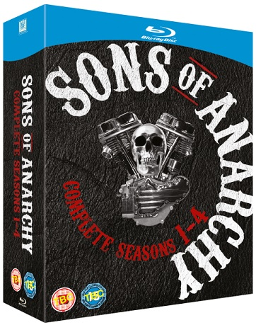 Sons of Anarchy - Seasons 1-4 Blu-ray