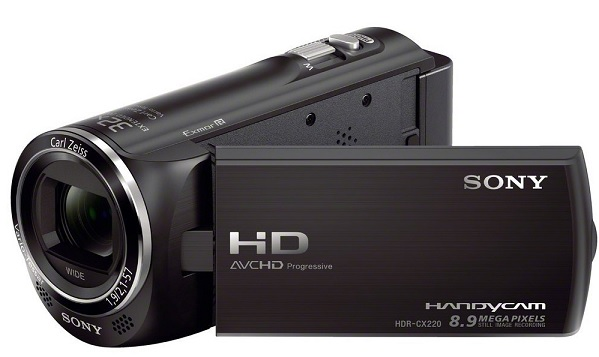 Sony HDR CX220EB HD Flash Camcorder