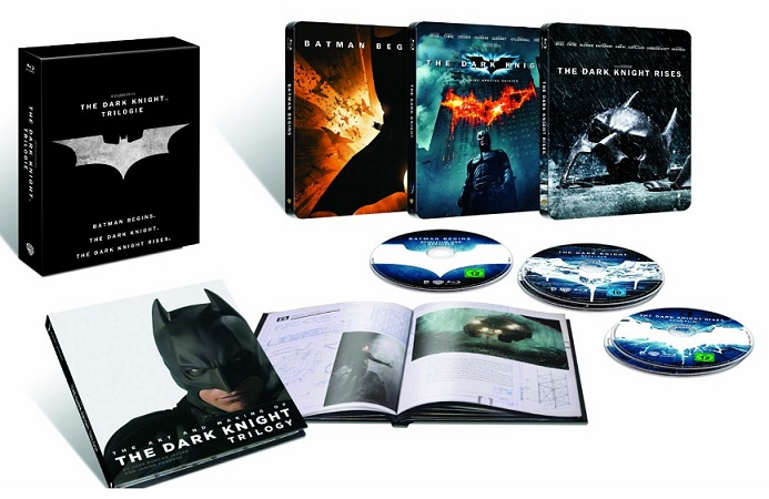 The Dark Knight Trilogy Steelbook Edition