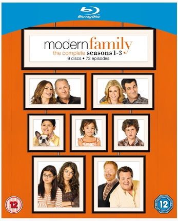 modern family bluray