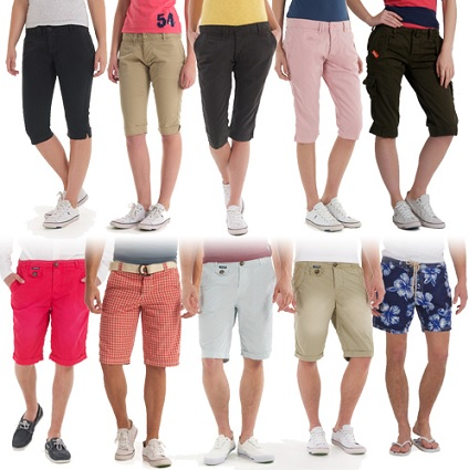 superdry capris shorts