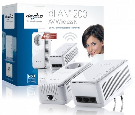 Devolo dLAN 200 AV Wireless N Starter Kit+