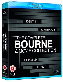 The Complete Bourne Collection Bluray