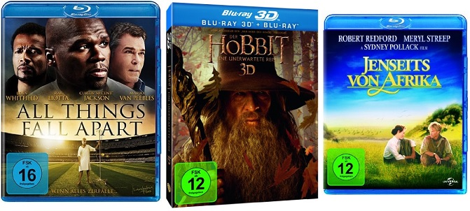 blurays hobbit