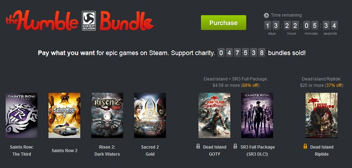 the humble bundle steam