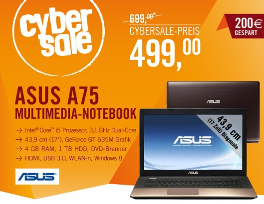 Asus A75VJ-TY111H