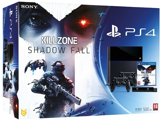 Console PS4 500 Go Noire Killzone Shadow Fall Camera PS4 Manette PS4 Dual Shock