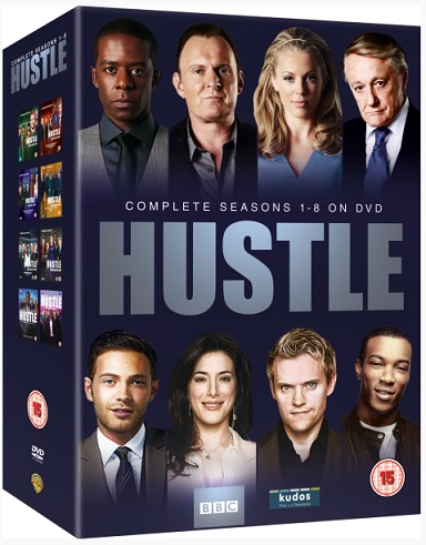 Hustle - Seasons 1-8 DVD