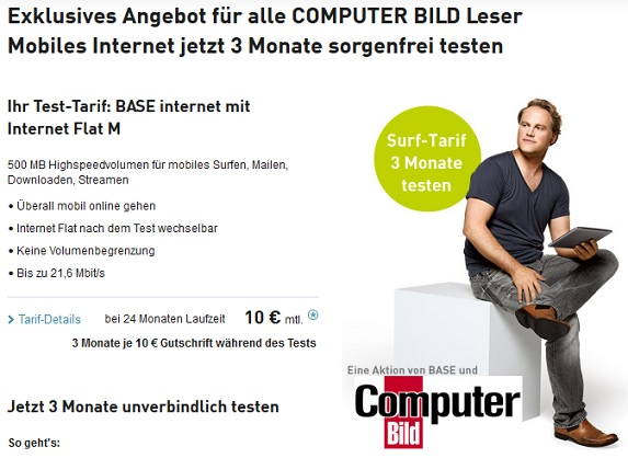 BASE ComputerBILD Angebot