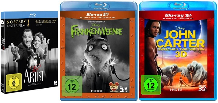 Frankenweenie bluray