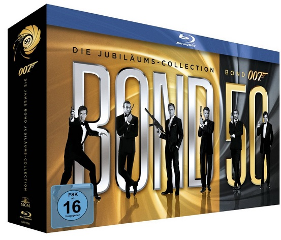 James Bond Bond 50 Die Jubiläums Collection bluray